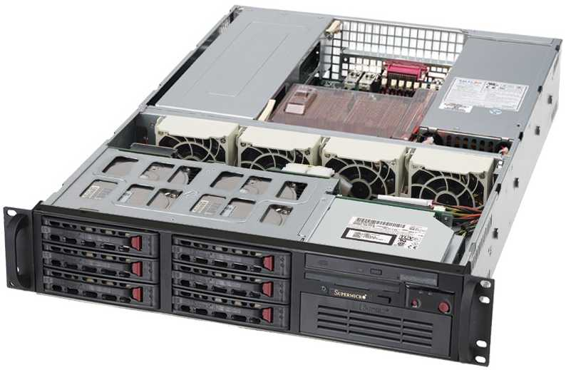 Supermicro 2U Rack Server Superserver Dubai Sharjah Abu Dhabi Oman Gulf GCC Middle East Distributor