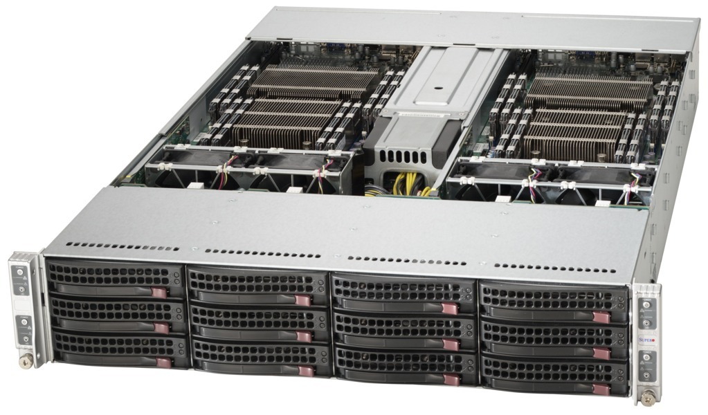 Supermicro SYS-6028TP-HC0R SYS-6028TP-HC0TR SYS-6028TP-HC0FR 2U TwinPro Servers