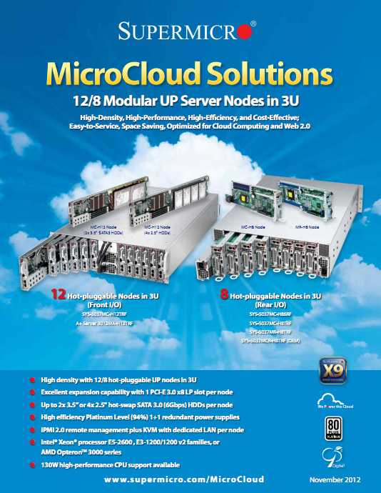 Supermicro Microcloud Brochure