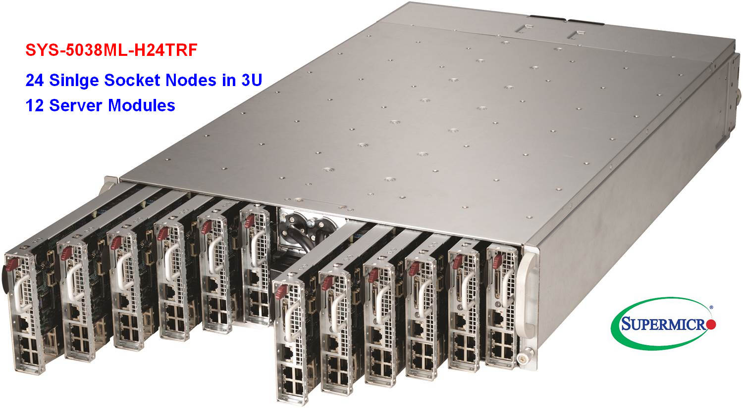 Supermicro SYS-5038ML-H24TRF Microcloud