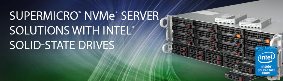 Intel SSD PCIe NVMe AIC Supermicro Server Storage Dubai UAE